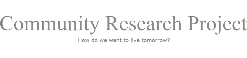 Community Research Project