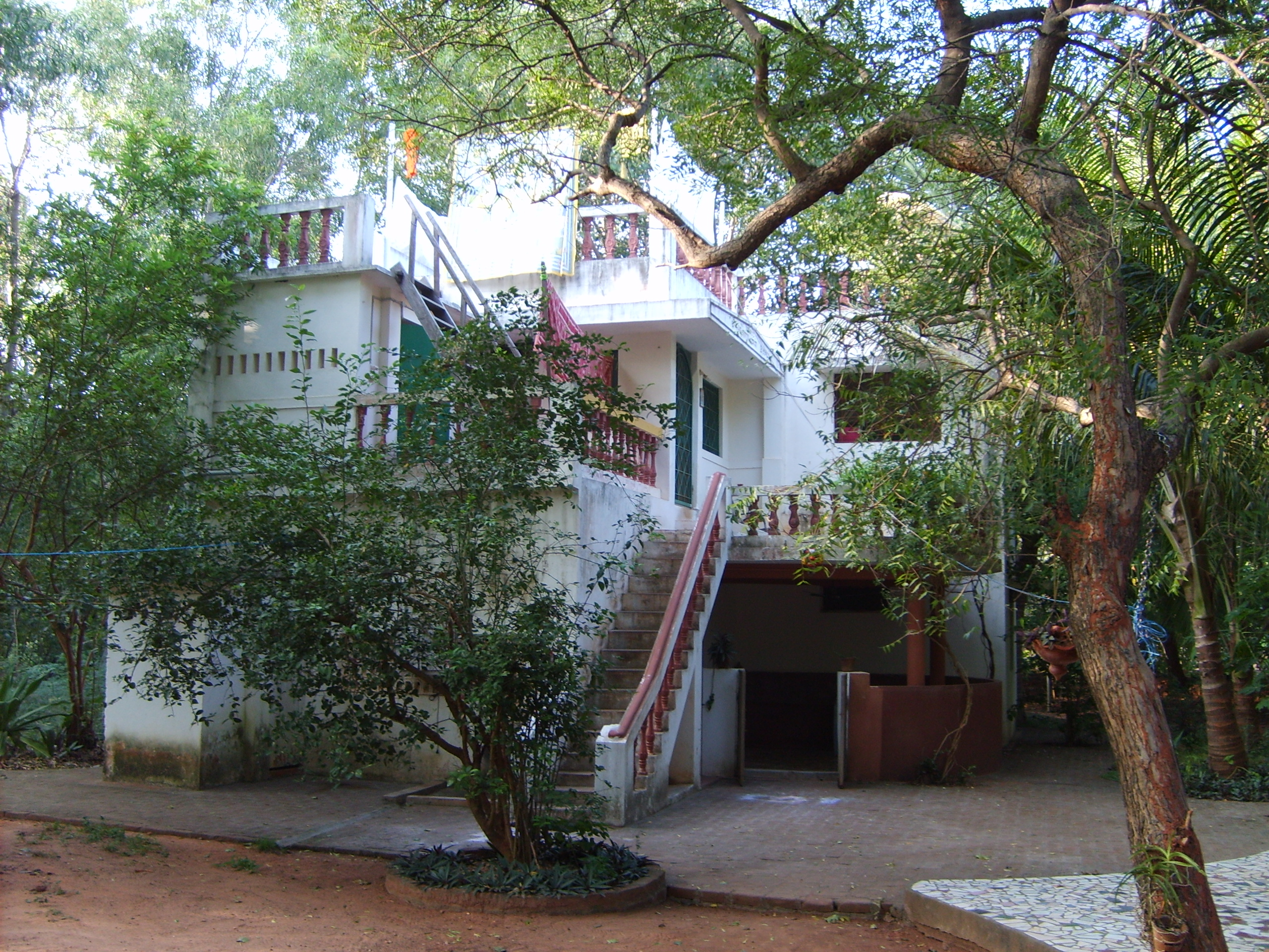 Our house in Auroville