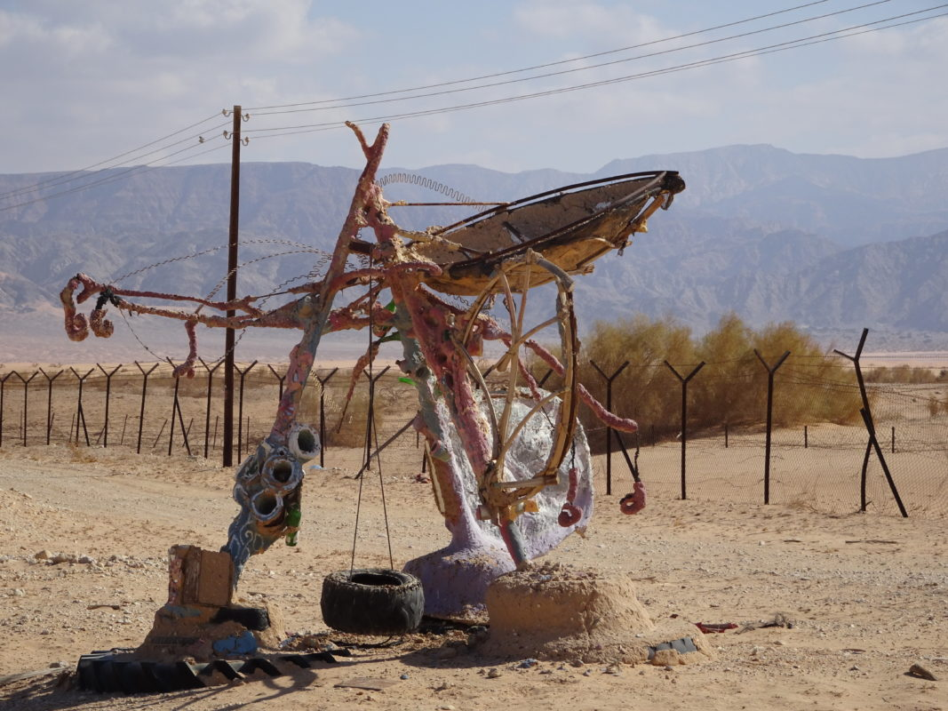 Birds, Dunes and Desert Art